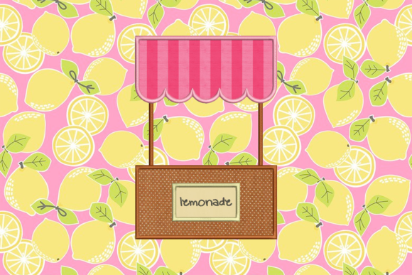 Download Free Summer Lemonade Stand Applique Creative Fabrica for Cricut Explore, Silhouette and other cutting machines.