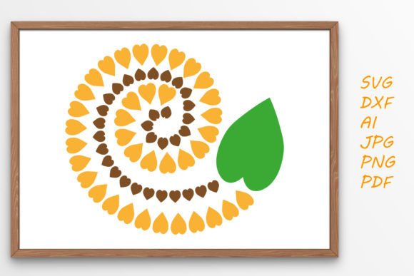 Print on Demand: Sunflower Graphic Graphic Crafts By Tanja Dianova