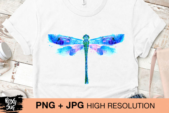 Download Free Watercolor Dragonfly Grafico Por Roxysvg26 Creative Fabrica for Cricut Explore, Silhouette and other cutting machines.