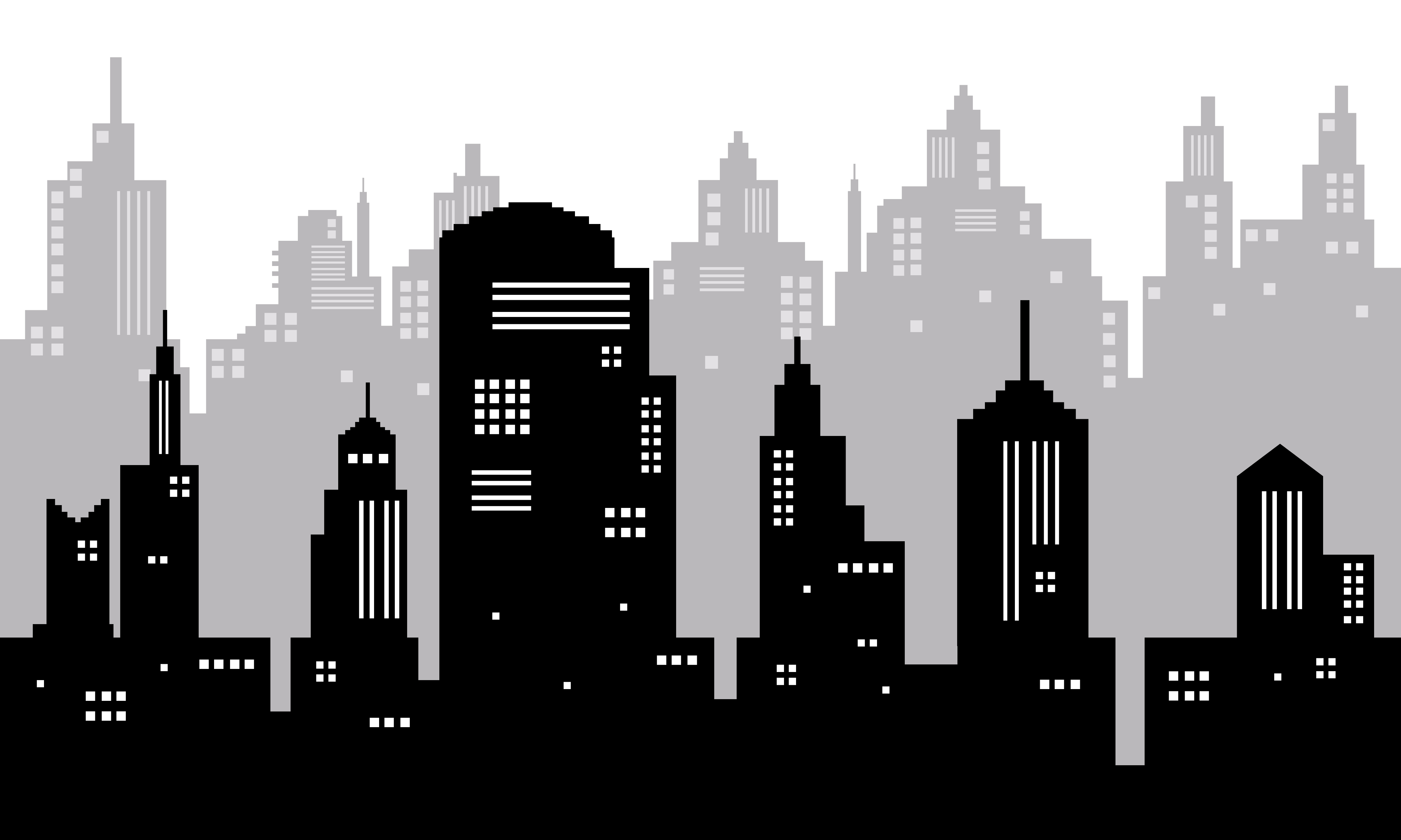 Download Free White Background With City Silhouette Graphic By Cityvector91 for Cricut Explore, Silhouette and other cutting machines.