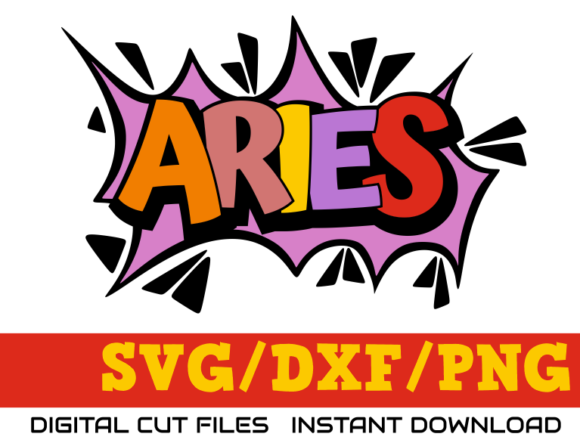 Download Free Aries Zodiac Sign Astrology Graphic By Digitaldarius Creative for Cricut Explore, Silhouette and other cutting machines.