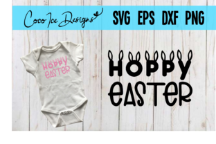 Download Free Hoppy Easter Shirt Onesie Graphic By Cocoicedesigns Creative for Cricut Explore, Silhouette and other cutting machines.