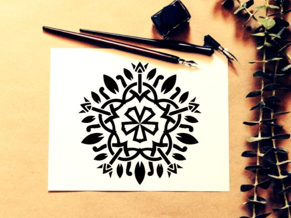 Print on Demand: <a>Mandala Design</a> Vol. 331 Graphic KDP Interiors By ermannofficial - Image 1