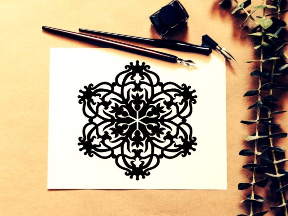Print on Demand: <a>Mandala Design </a>Vol. 335 Graphic KDP Interiors By ermannofficial - Image 1