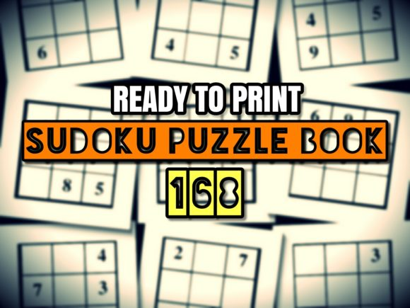 Download Free Print Ready Sudoku Puzzle Book Vol 93 Graphic By Ermannofficial for Cricut Explore, Silhouette and other cutting machines.