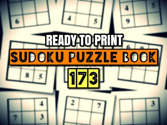 Print on Demand: Print Ready Sudoku Puzzle Book Vol 173 Graphic KDP Interiors By ermannofficial - Image 1