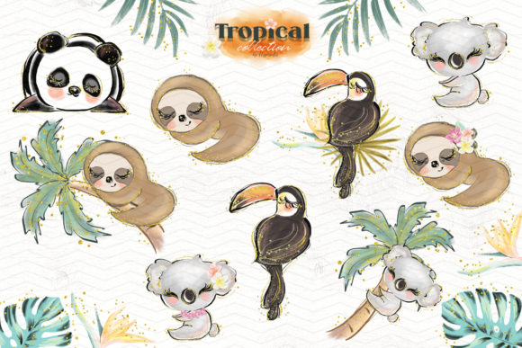 Tropical Illustration Graphic Illustrations By Hippogifts - Image 4