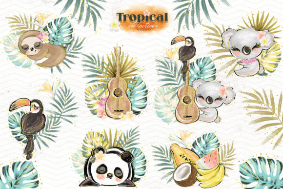 Tropical Illustration Graphic Illustrations By Hippogifts - Image 5