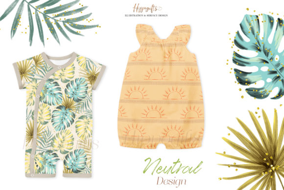 Tropical Summer Patterns Graphic Patterns By Hippogifts - Image 10