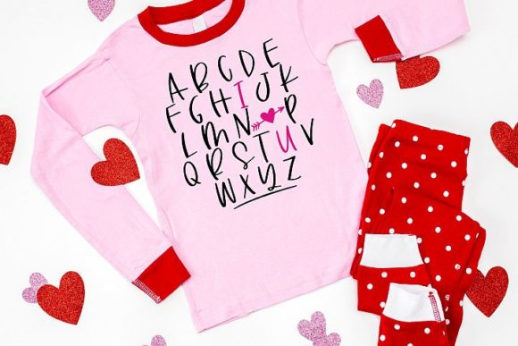 Abc I Love You Graphic By Simply Cut Co Creative Fabrica