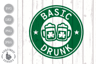 Print on Demand: Basic Drunk St. Patrick's Day Cut File Graphic Crafts By Rose.Rabbit Designery
