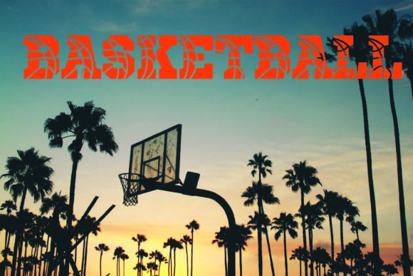 Print on Demand: Basketball Display Font By KtwoP - Image 1