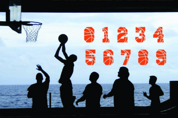 Print on Demand: Basketball Display Font By KtwoP - Image 4