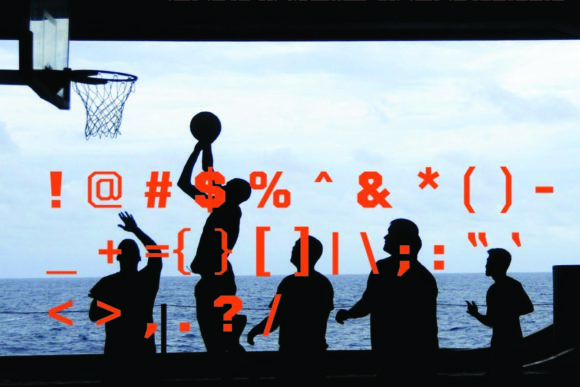 Print on Demand: Basketball Display Font By KtwoP - Image 5
