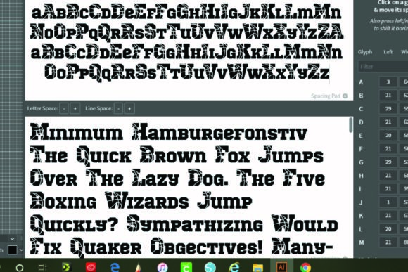 Print on Demand: Basketball Display Font By KtwoP - Image 7