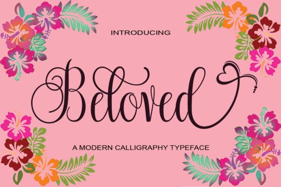 Print on Demand: Beloved Manuscrita Fuente Por StudioRz