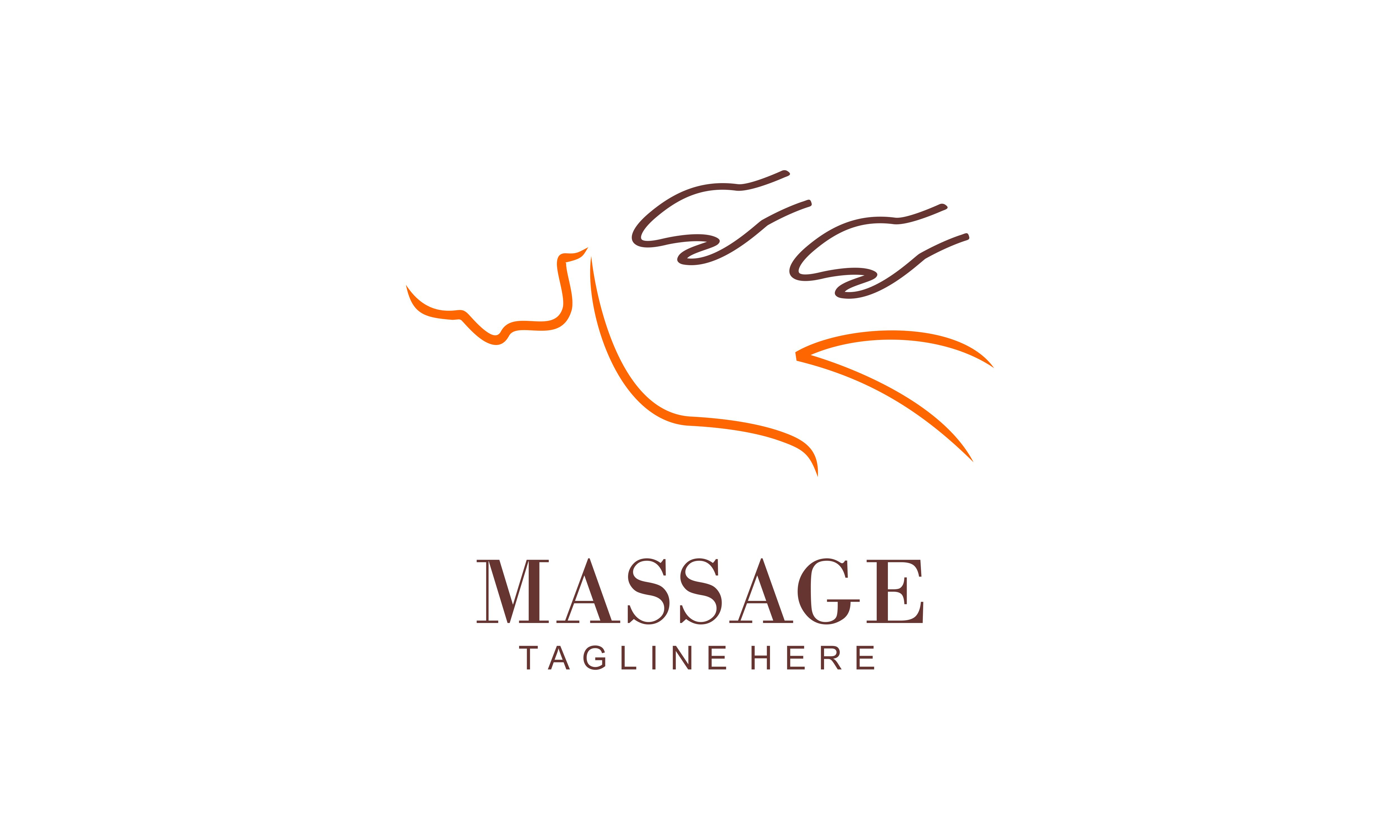 Download Free Body Massage Logo Vector Illustration Graphic By 2qnah for Cricut Explore, Silhouette and other cutting machines.