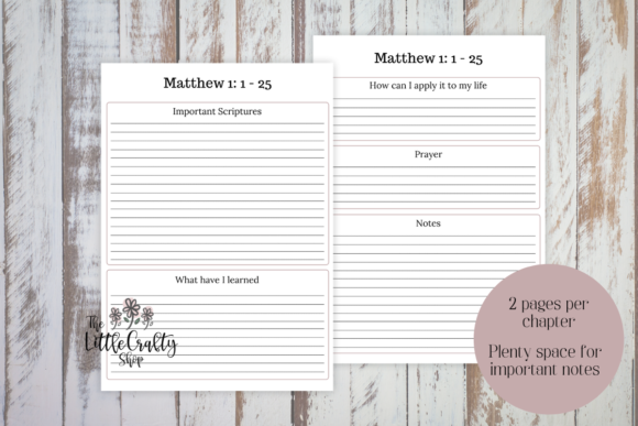 Download Free Book Of Matthew Printable Wall Art Graphic By The Little Crafty Shop Creative Fabrica for Cricut Explore, Silhouette and other cutting machines.