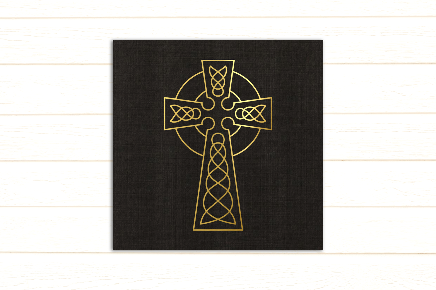 Download Free Celtic Cross Single Line Sketch Graphic By Risarocksit for Cricut Explore, Silhouette and other cutting machines.