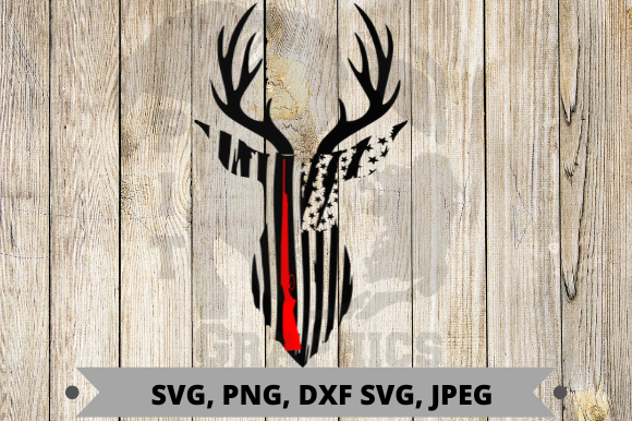 Deer Hunting Flag Graphic By Pit Graphics Creative Fabrica