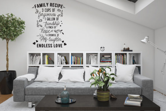 Print on Demand: Family Recipe Cut File Graphic Crafts By Nerd Mama Cut Files