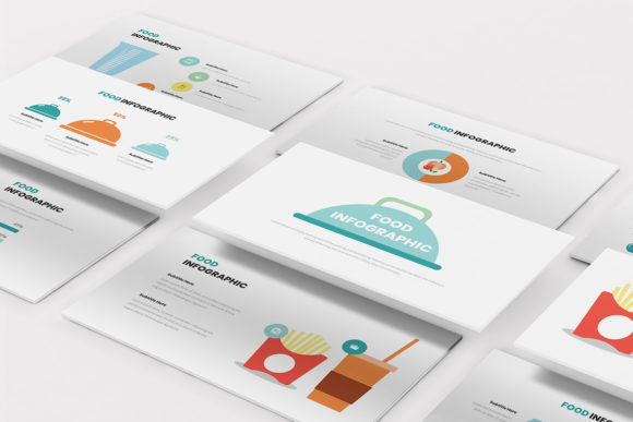 Food Infographic Powerpoint Graphic Presentation Templates By formatikastd