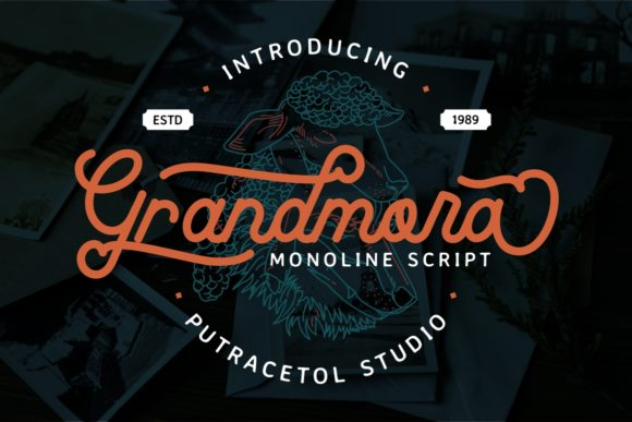 Print on Demand: Grandmora Script & Handwritten Font By putracetol