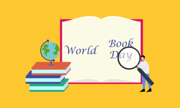 Happy World Book Day Background Graphic By 2qnah Creative Fabrica
