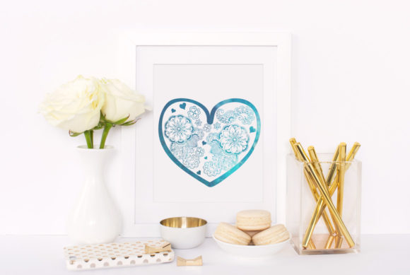 Download Free Heart Mandala Cut File Graphic By Nerd Mama Cut Files Creative for Cricut Explore, Silhouette and other cutting machines.