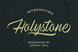 Print on Demand: Holystone Script & Handwritten Font By letterhend