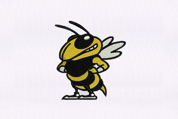 Honey Bee Bugs & Insects Embroidery Design By DigitEMB