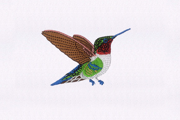 Hummingbird Birds Embroidery Design By DigitEMB