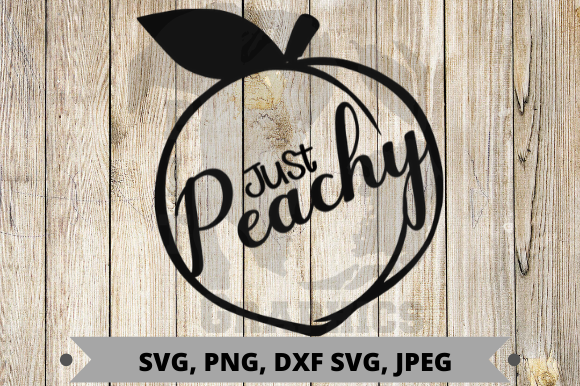 Download Free Just Peachy Graphic By Pit Graphics Creative Fabrica for Cricut Explore, Silhouette and other cutting machines.