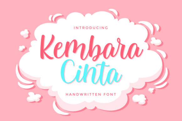 Print on Demand: Kembara Cinta Script & Handwritten Font By fargunstudio