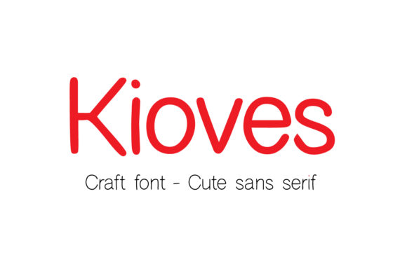 Print on Demand: Kioves Sans Serif Font By Cititype