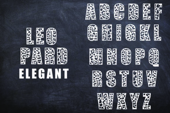 Print on Demand: Leopard Elegant Display Font By Mr.pagman - Image 3