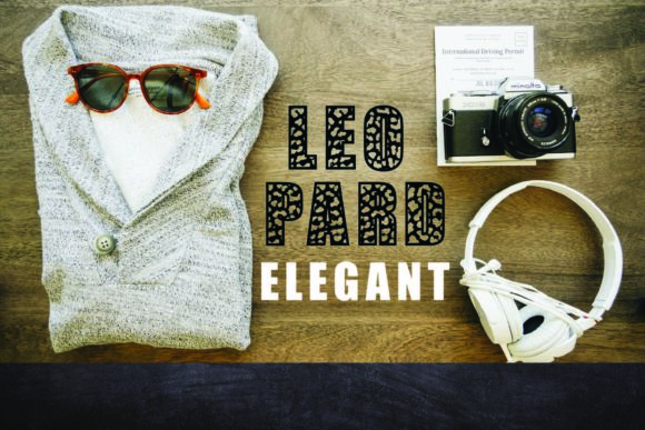 Print on Demand: Leopard Elegant Display Font By Mr.pagman - Image 7
