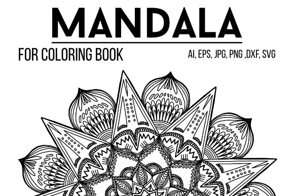 Print on Demand: Mandala to Color Graphic Coloring Pages & Books Adults By stanosh