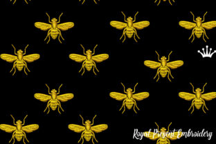 Napoleonic Bee Bugs & Insects Embroidery Design By ludmila.konovalova