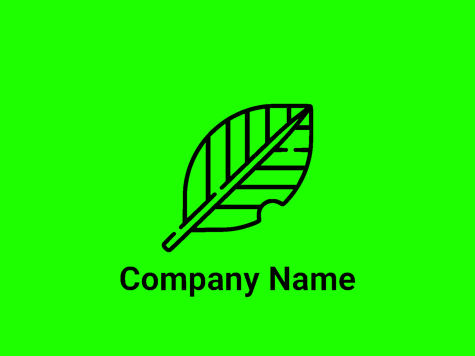 Download Free Nature Logo Template 39 Grafico Por Ermannofficial Creative for Cricut Explore, Silhouette and other cutting machines.