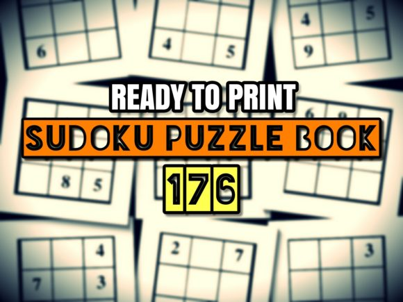 Print on Demand: Print Ready Sudoku Puzzle Book Vol 176 Graphic KDP Interiors By ermannofficial - Image 1