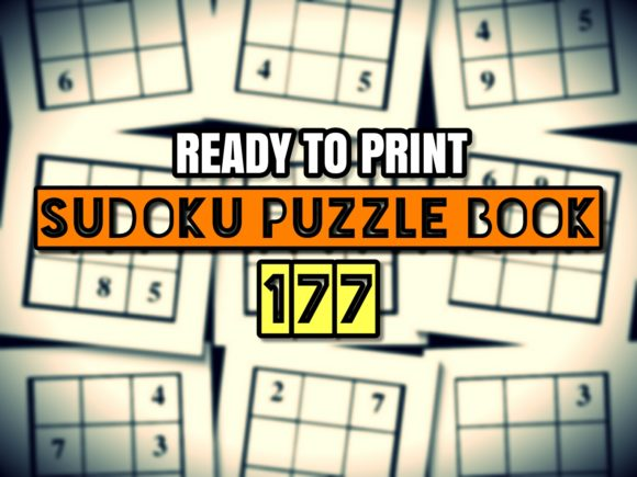 Print on Demand: Print Ready Sudoku Puzzle Book Vol 177 Graphic KDP Interiors By ermannofficial