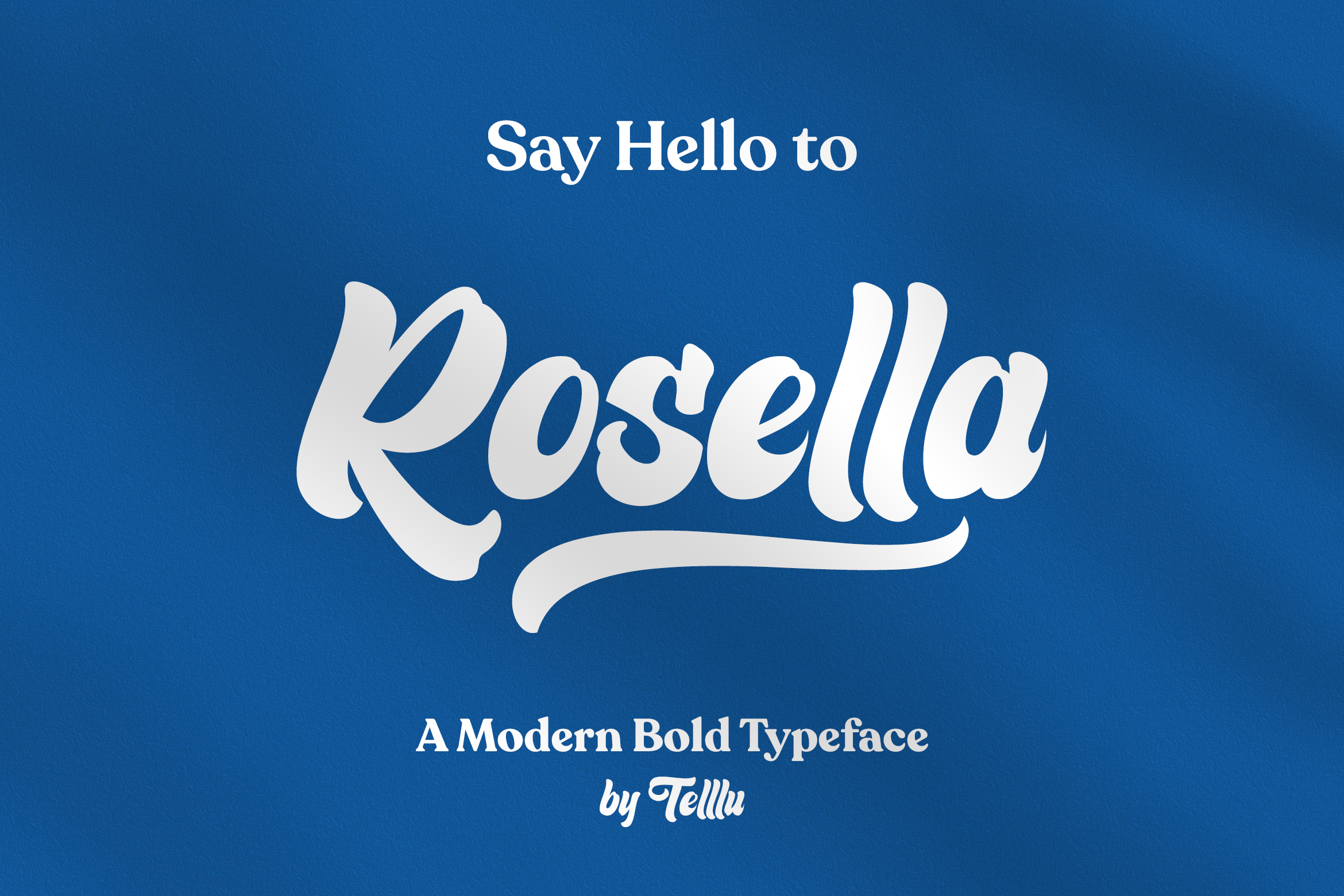 Download Free Rosella Font By Telllu Creative Fabrica for Cricut Explore, Silhouette and other cutting machines.