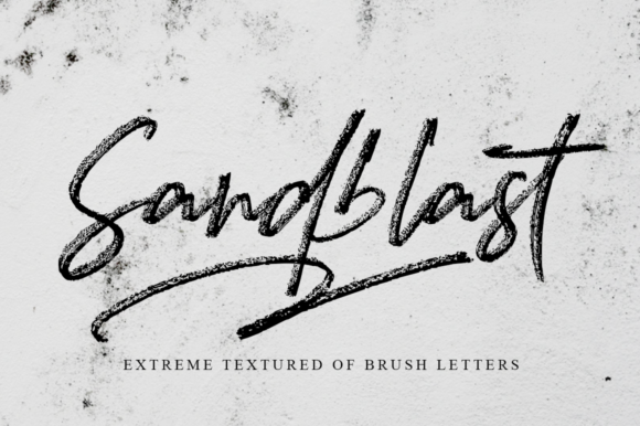 Print on Demand: Sandblast Script & Handwritten Font By Haksen
