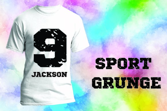 Print on Demand: Sport Grunge Display Font By Mr.pagman