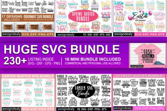 Download Free The Huge Bundle Grafico Por Designdealy Com Creative Fabrica for Cricut Explore, Silhouette and other cutting machines.