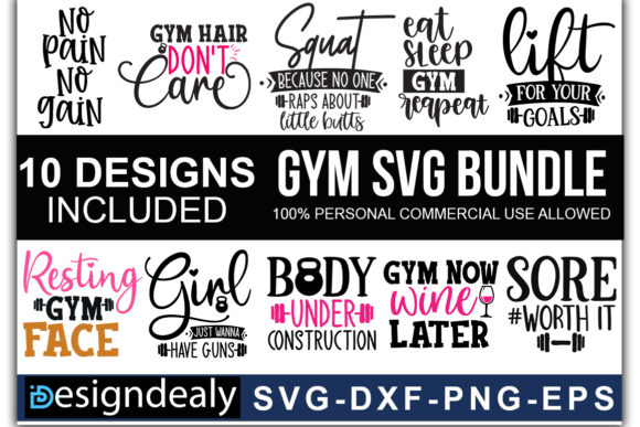 Print on Demand: The Huge Bundle Graphic Print Templates By Designdealy.com - Image 11