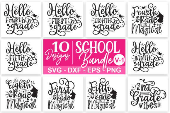 Print on Demand: The Huge Bundle Graphic Print Templates By Designdealy.com - Image 12