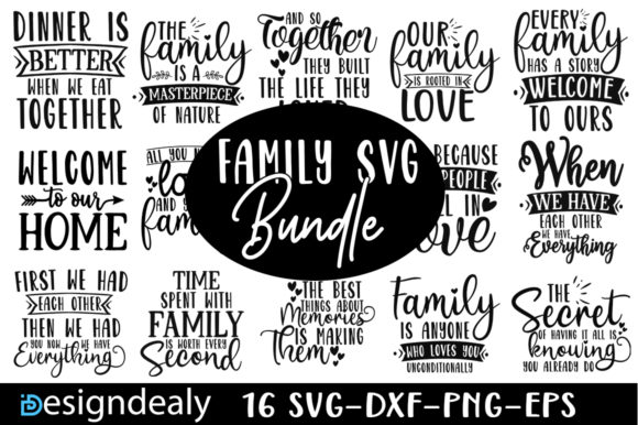 Print on Demand: The Huge Bundle Graphic Print Templates By Designdealy.com - Image 8