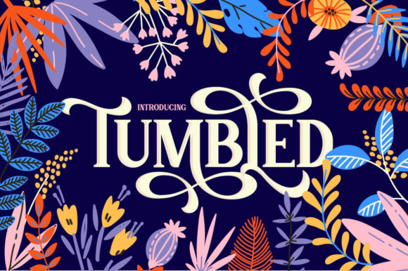 Print on Demand: Tumbled Serif Font By Salt & Pepper Designs